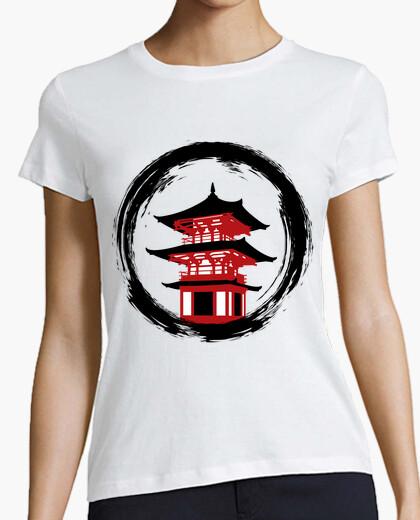 T-shirt Donna, manica corta, bianca, qualità premium
