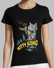 donne camicia gattino kong