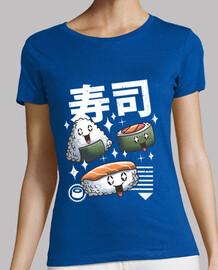 donne della camicia di sushi di kawaii