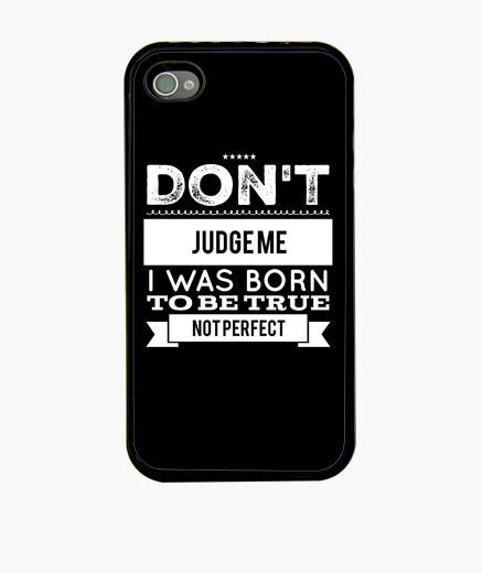 Funda iPhone Don't judge