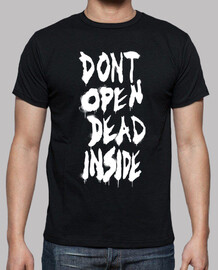 Dont Open de The Walking Dead - blanc vertical