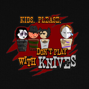 Camisetas Don´t play with knives
