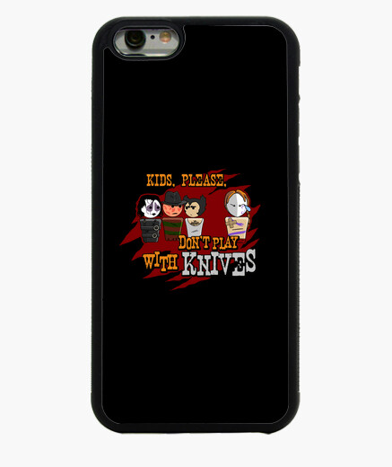 Don't play with knives iphone 6 / 6s case