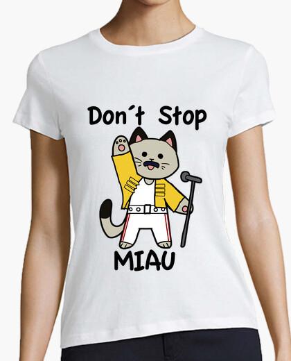 Camiseta Don´t Stop Miau
