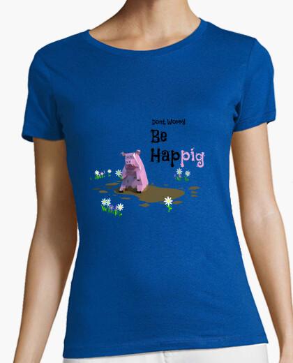 Camiseta Don't Worry be Happig