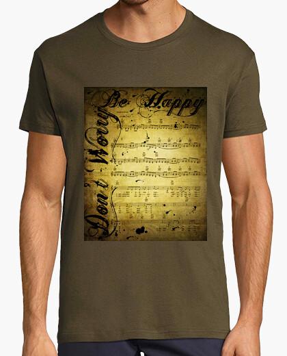 Camiseta Don't Worry Be Happy