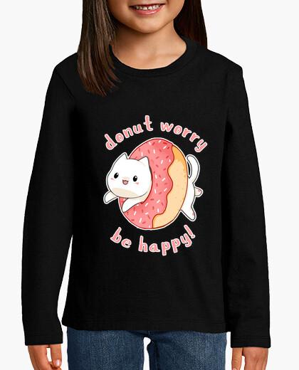Ropa infantil Donut worry cat