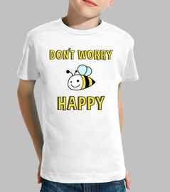 Doodle Animal Bee(K). Don´t worry bee happy.
