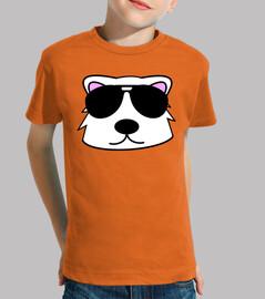 Doodle cara oso polar