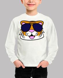 Doodle cara tigre