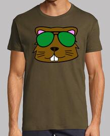 doodle face beaver