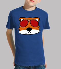 doodle face fox