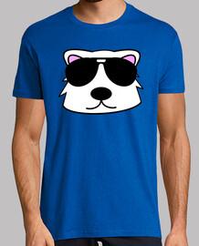 doodle face ours polaire