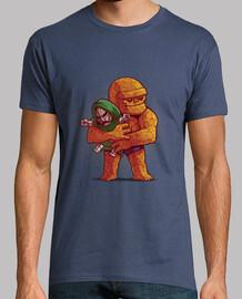 doom - t-shirt da uomo