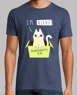 doppeltes schrödinger t-shirt