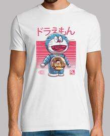 dorae-bot camiseta para hombre