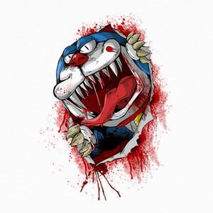 Camisetas Doraemon Zombie Zombi Friki