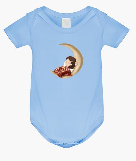 Vêtements enfant dormant sur la lune