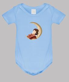 dormant sur la lune