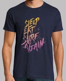 dormir, manger, surf, encore une fois
