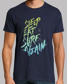 dormir, manger, surf, vol à nouveau. 2