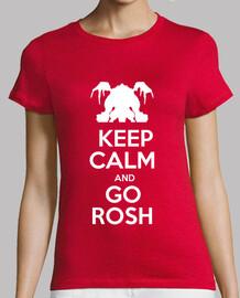 dota2 roshan t-shirt femminile