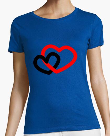 Double heart t-shirt