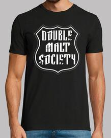 DoubleMaltSociety (Primera camiseta oficial)