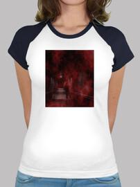 Down to Hell - Camiseta estilo béisbol para chica