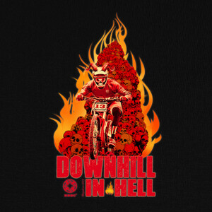 Camisetas Downhill in Hell