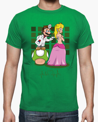Dr. mario green version t-shirt