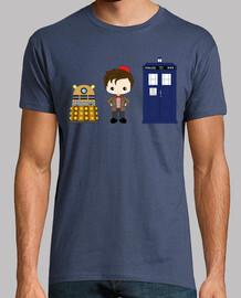 Dr Who, Tardis y Dalek