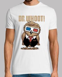 dr. whoot! shirt mens