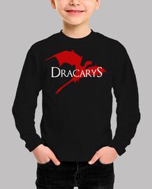 Dracarys (Juego de Tronos). Manga corta infantil