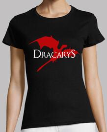 Dracarys (Juego de Tronos). Manga corta negra chica