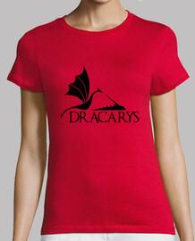 Dracarys negro M, mc