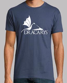 dracarys white dragon h