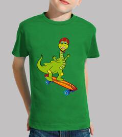 draghetto con skateboard