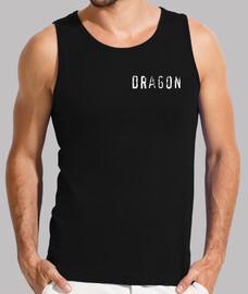 drago, (disegno per retro)