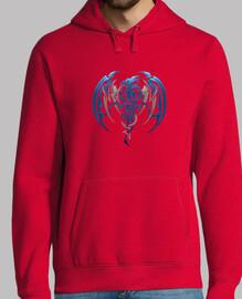 drago hoodie tribale