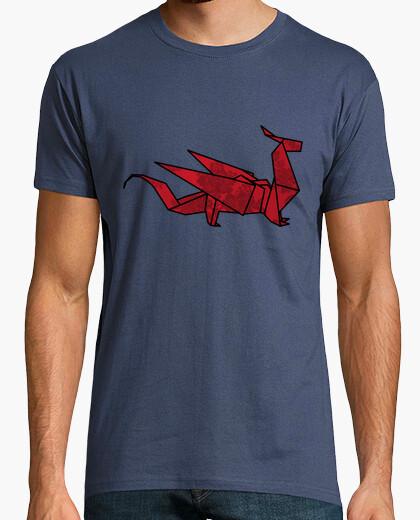 T-shirt drago origami