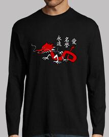 Dragón - Kanjis Eternidad, Honor, Amor
