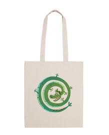 dragon - sac en tissu