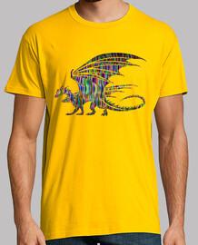 Dragón Alado Multicolor