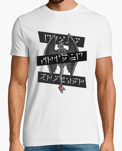 Camiseta dragón, amigo, hermano