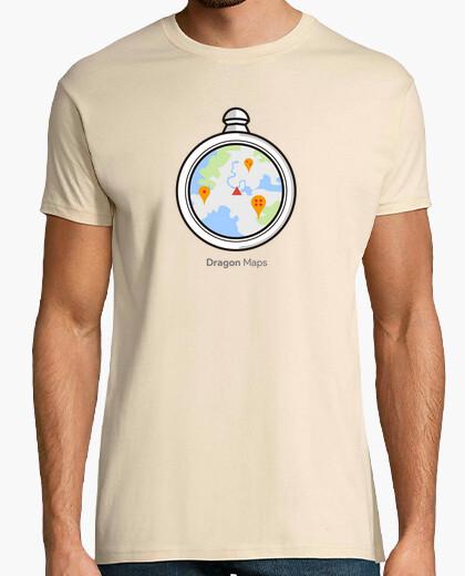 Camiseta Dragon Ball Radar Maps