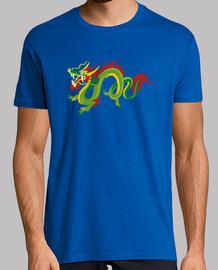 Dragón chino colorista