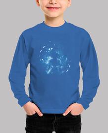 dragon de l39espace - bleu