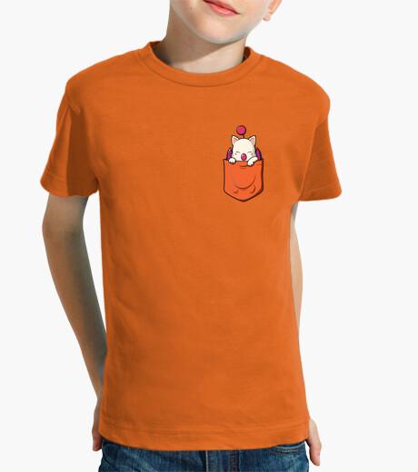 Ropa infantil Dragón en el bolsillo (naranja)