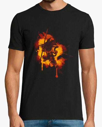 Camiseta dragón entintado